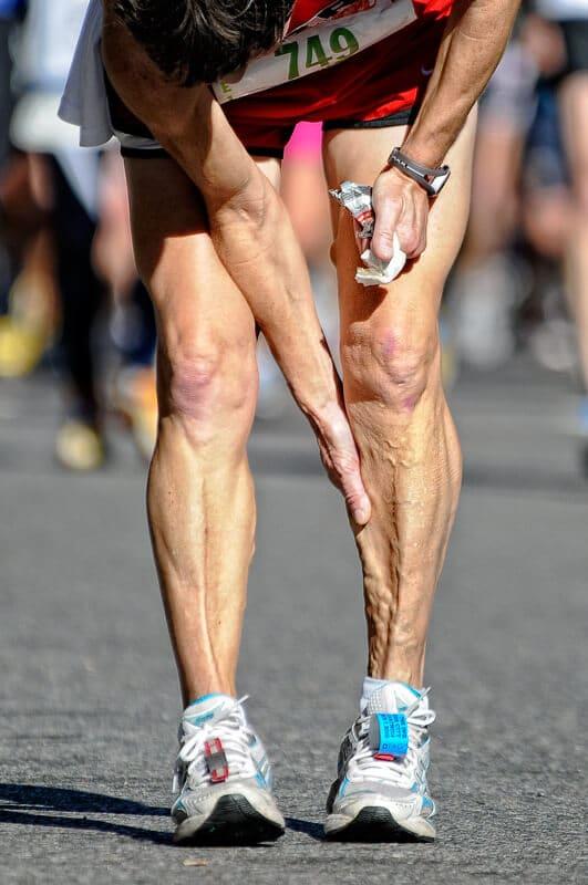 leg cramps while running