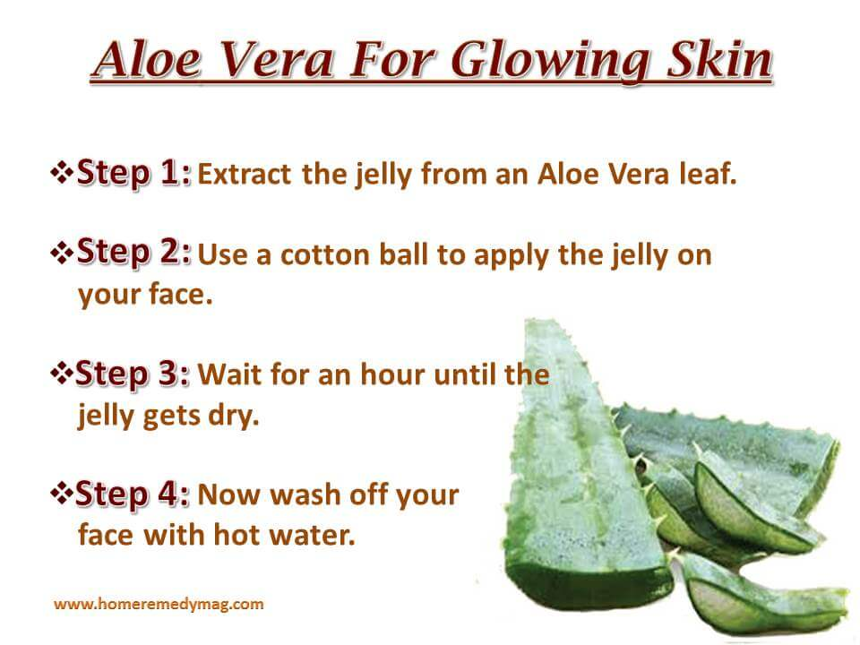 Aloe Vera for glowing skin (1)