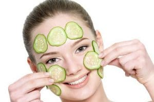 cucumber as a remedy for acne scars