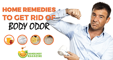 Home Remedies To Get Rid Of Body Odor