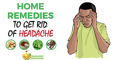 home remedies to get rid of headache