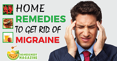 home remedies to get rid of migraine
